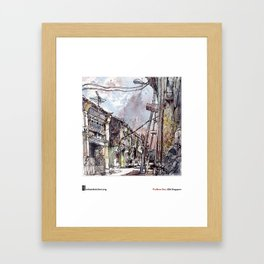 "Tia Boon Sim, ""The Love Lane, Penang, Malaysia""  Framed Art Print"