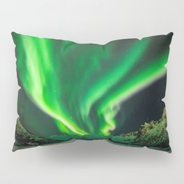 Beauty of Northern Lights Pillow Sham