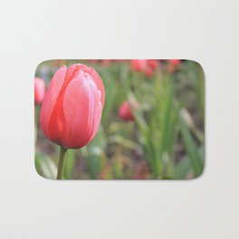 The Pink Tulip Bath Mat