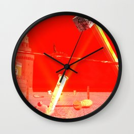 SquaRed: Real Politics Wall Clock