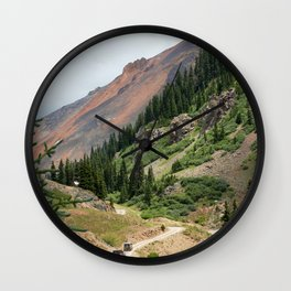 Road to the Longfellow Mine, elevation 11,080 feet Wall Clock