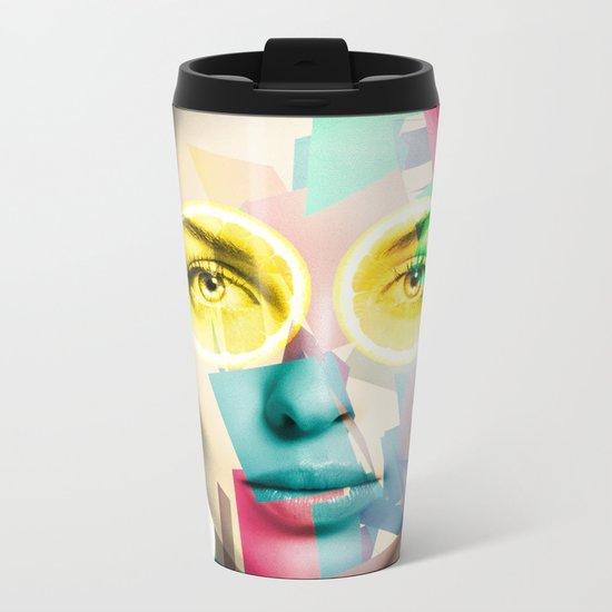 Woman Metal Travel Mug