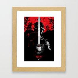 Mariachi Ronin The Legend Framed Art Print