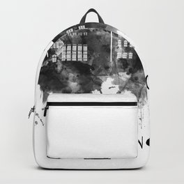 Concord New Hampshire Skyline BW Backpack