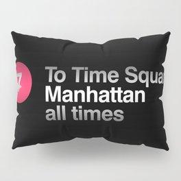 7 Subway NYC Pillow Sham