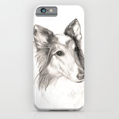 Remembering Maggie :: A Tribute to a Collie Slim Case iPhone 6s