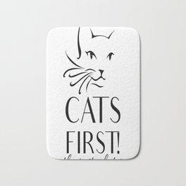 Cats first Bath Mat