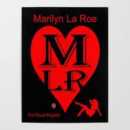 """"""" MARILYN LA ROE """" ... LOGO Poster"""