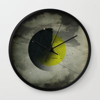shadow Wall Clocks featuring Shadow by NGHBRS