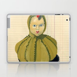 Creepiest Yet Most Wonderful Pincushion Ever in Gouache Laptop & iPad Skin