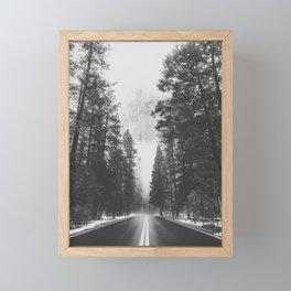 ROAD TRIP IV / Yosemite, California Framed Mini Art Print