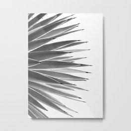 Black & White Agave Dream #1 #tropical #decor #art #society6  Metal Print