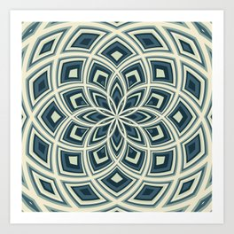 Spiral Rose Pattern E 4/4 Art Print