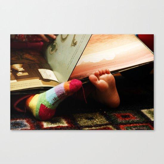 (bare)feet Canvas Print