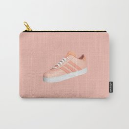 Pastel Pink Sneaker Carry-All Pouch