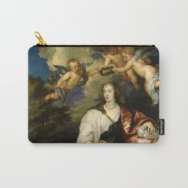 """Sir  Anthony van Dyck """"Venetia, Lady Digby"""" Carry-All Pouch"""