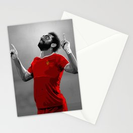 Mohamed Salah - Liverpool Stationery Cards