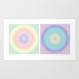 """Circles II"" Art Print"