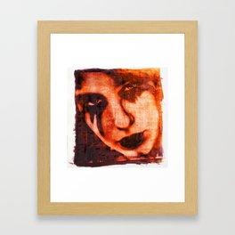 Lost Love Dye Art Print Framed Art Print