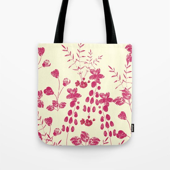 Watercolor floral garden  II Tote Bag