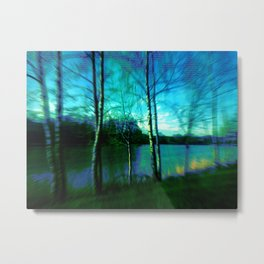 their lake Metal Print