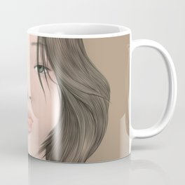 Girl with Dragon Coffee Mug