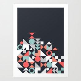 Modern Geometric 30 Art Print