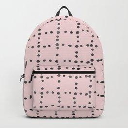 Drunk Polka Dot Grid Dance Backpack