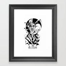 Pencil Sketch Framed Art Print