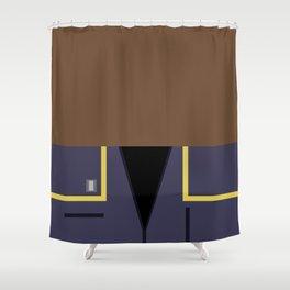 Travis Mayweather - Minimalist Star Trek: Enterprise - Trektangle - Trektangles - startrek - ensign Shower Curtain