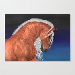 Golden Stallion .. fantasy horse Canvas Print