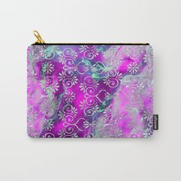 Psicodelic Adventure - Purple Pink Carry-All Pouch