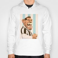 juventus Hoodies featuring Carlos Tévez by nachodraws