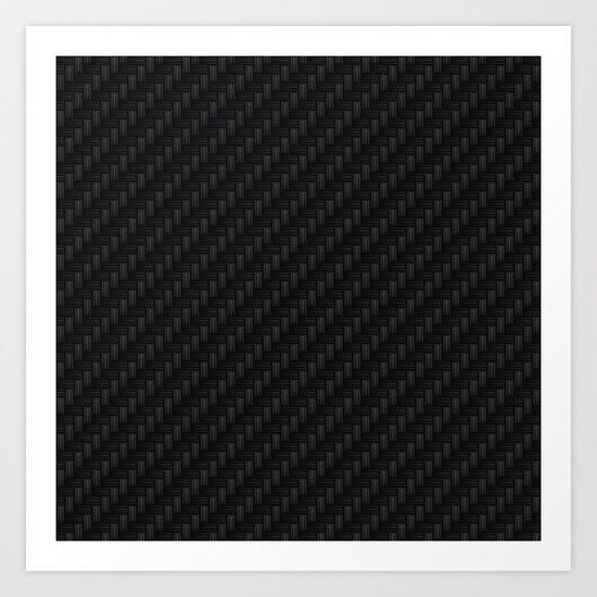 Carbon Fiber Art Print