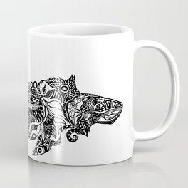Whale drawing by Floris V Coffee Mug