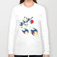 megaman Long Sleeve T-shirts featuring Megaman X by JHTY