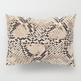 Snake skin art print Pillow Sham
