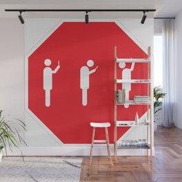STOP and Look Around Wall Mural