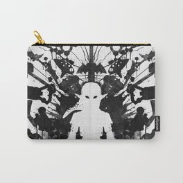 Ink Blot Link Kleptomania Geek Disorders Series Carry-All Pouch