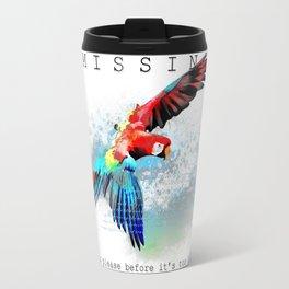 Macaw MISSING Travel Mug