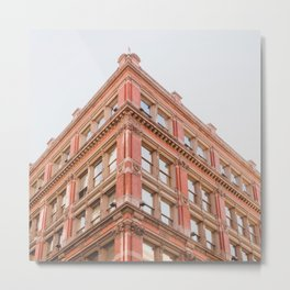 Corner Building - NYC Photography Metal Print