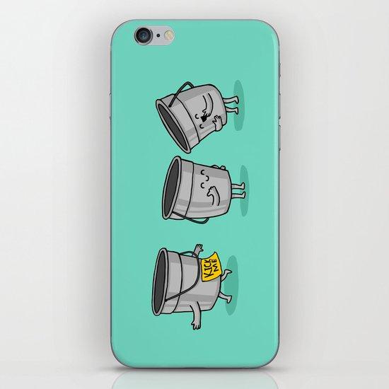 Kick the Bucket iPhone & iPod Skin