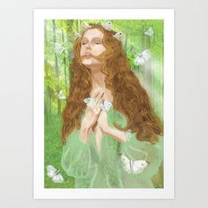 Rapture (Nymph) Art Print