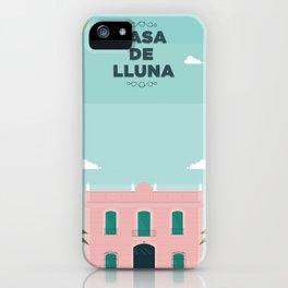 Casa de Lluna iPhone Case
