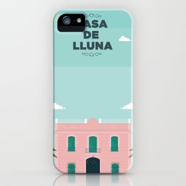 Casa de Lluna iPhone Case