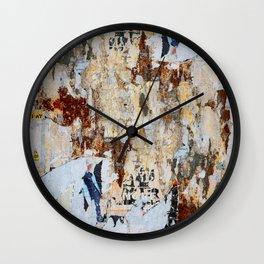 Arte Povera Wall Clock