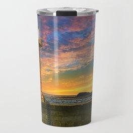 Dawn over Black Nab Travel Mug