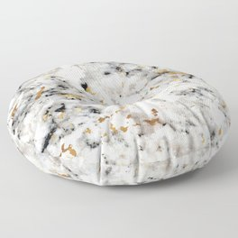 Classic Marble with Gold Specks Floor Pillow