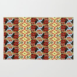 SKCreations Moroccan Mosaic Rug