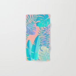 Tropics ( monstera and banana leaf pattern ) Hand & Bath Towel